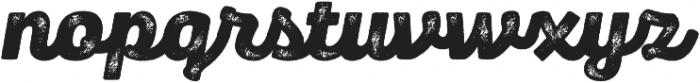 Panton Rust Script Black Grunge otf (900) Font LOWERCASE