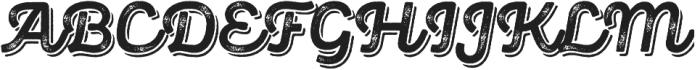 Panton Rust Script Bold Grunge Shadow otf (700) Font UPPERCASE
