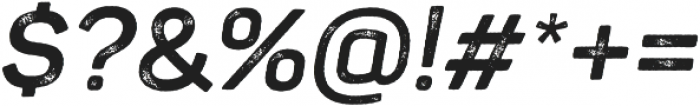 Panton Rust Script Bold Grunge otf (700) Font OTHER CHARS