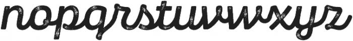 Panton Rust Script Bold Grunge otf (700) Font LOWERCASE