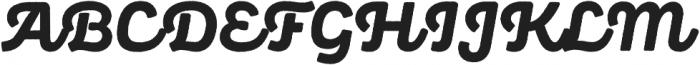 Panton Rust Script ExtraBold Base otf (700) Font UPPERCASE