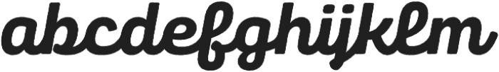 Panton Rust Script ExtraBold Base otf (700) Font LOWERCASE