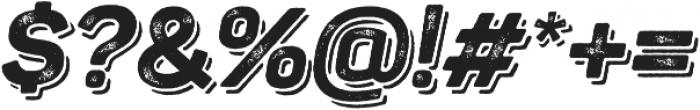 Panton Rust Script ExtraBold Grunge Shadow otf (700) Font OTHER CHARS