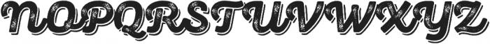 Panton Rust Script ExtraBold Grunge Shadow otf (700) Font UPPERCASE