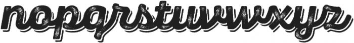 Panton Rust Script ExtraBold Grunge Shadow otf (700) Font LOWERCASE