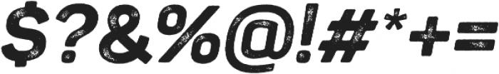 Panton Rust Script ExtraBold Grunge otf (700) Font OTHER CHARS