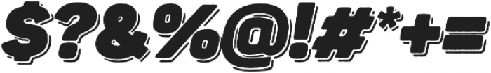 Panton Rust Script Heavy Base Shadow otf (800) Font OTHER CHARS