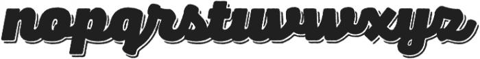 Panton Rust Script Heavy Base Shadow otf (800) Font LOWERCASE