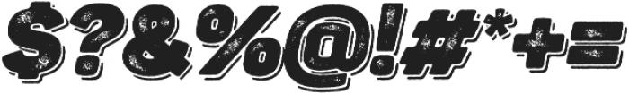 Panton Rust Script Heavy Grunge Shadow otf (800) Font OTHER CHARS