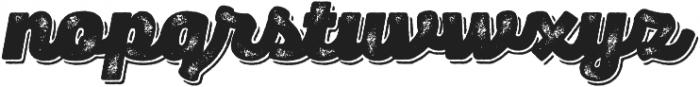 Panton Rust Script Heavy Grunge Shadow otf (800) Font LOWERCASE