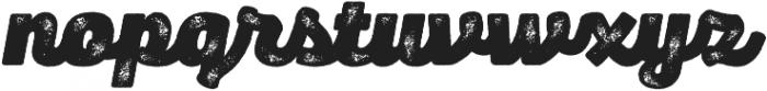 Panton Rust Script Heavy Grunge otf (800) Font LOWERCASE
