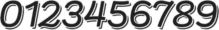 Panton Rust Script SemiBold Base Shadow otf (600) Font OTHER CHARS
