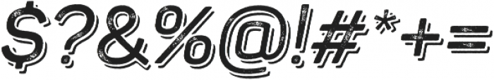 Panton Rust Script SemiBold Grunge Shadow otf (600) Font OTHER CHARS