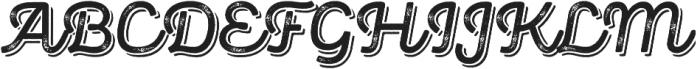 Panton Rust Script SemiBold Grunge Shadow otf (600) Font UPPERCASE