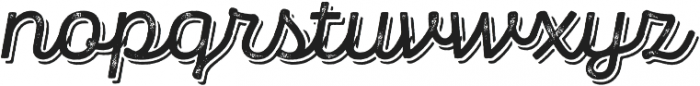Panton Rust Script SemiBold Grunge Shadow otf (600) Font LOWERCASE