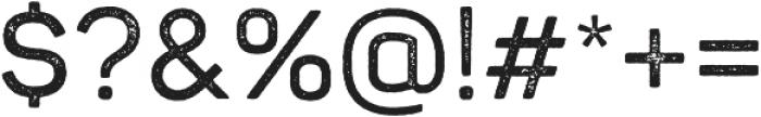 Panton Rust SemiBold Grunge otf (600) Font OTHER CHARS