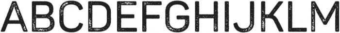 Panton Rust SemiBold Grunge otf (600) Font UPPERCASE