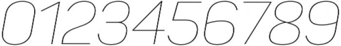 Panton Thin Italic otf (100) Font OTHER CHARS