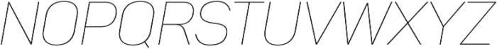 Panton Thin Italic otf (100) Font UPPERCASE