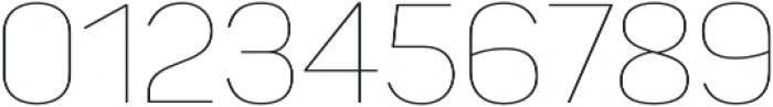 Panton Thin otf (100) Font OTHER CHARS