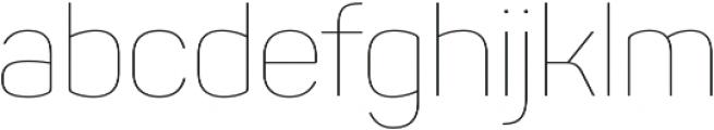 Panton Thin otf (100) Font LOWERCASE