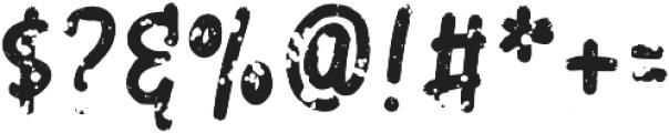 Paper Clip Font otf (400) Font OTHER CHARS