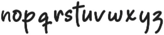 Papertown Regular otf (400) Font LOWERCASE