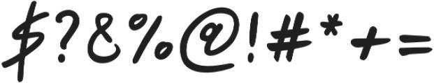 Papik otf (400) Font OTHER CHARS