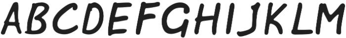 Papik otf (400) Font UPPERCASE
