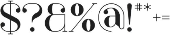 Papillon Regular otf (400) Font OTHER CHARS
