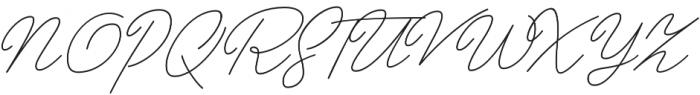 Papillon Script otf (400) Font UPPERCASE