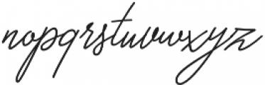 Papillon Script otf (400) Font LOWERCASE
