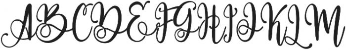 Paradiso otf (400) Font UPPERCASE