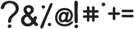 Parahlilla Sans otf (400) Font OTHER CHARS