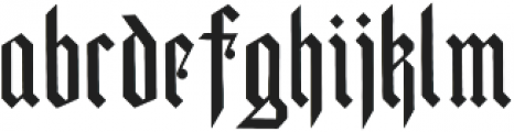 Parapet ttf (400) Font LOWERCASE
