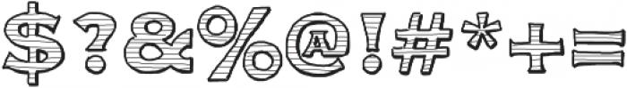 Parcel ttf (400) Font OTHER CHARS