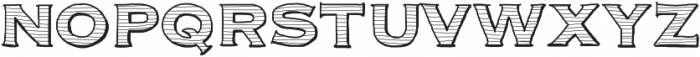 Parcel ttf (400) Font UPPERCASE