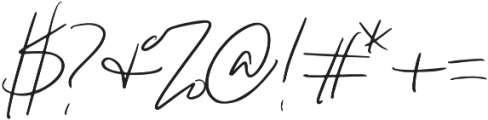 Paris Script otf (400) Font OTHER CHARS