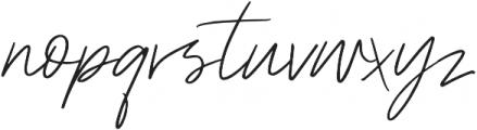 Paris Script otf (400) Font LOWERCASE
