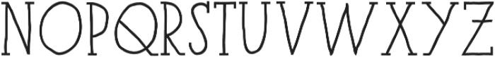 Paris Serif Black otf (900) Font UPPERCASE