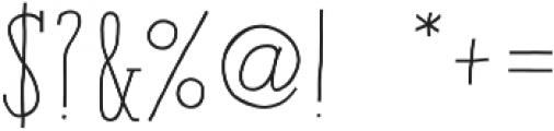 Paris Serif Bold otf (700) Font OTHER CHARS