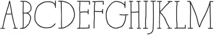Paris Serif Bold otf (700) Font LOWERCASE