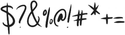Paris otf (400) Font OTHER CHARS