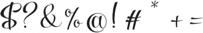 Parisi otf (400) Font OTHER CHARS
