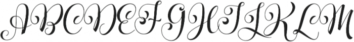 Parisi otf (400) Font UPPERCASE