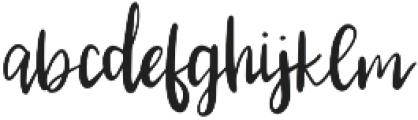 Parkchester otf (400) Font LOWERCASE