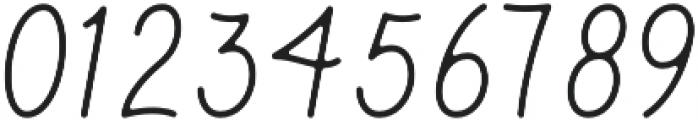 Parks Script otf (400) Font OTHER CHARS