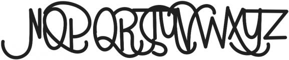 Parrot Regular otf (400) Font UPPERCASE