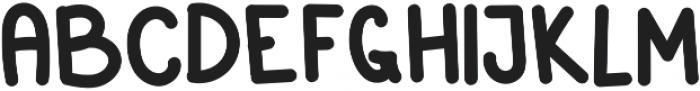 Parrot Regular otf (400) Font LOWERCASE