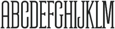 Partizano Regular otf (400) Font UPPERCASE
